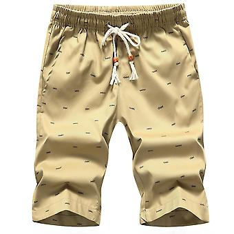 Mannen Casual Beach Quality Bottoms Elastic Waist Fashion Shorts
