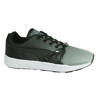 Puma XT S Blur Mens Black Grey Lace Up Trainers Gym Running Shoes 359713 02 B15B