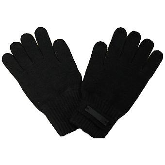 Puma Knitted Unisex Mens Womens Wooly Acrylic Shaw Gloves Black 040661 01 A33A