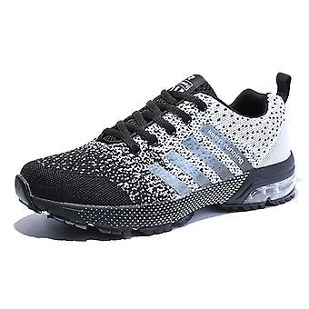 Zapatos para correr al aire libre para hombre 8702 Grey