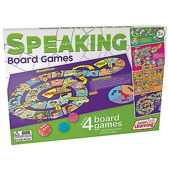 Speaking Board Games