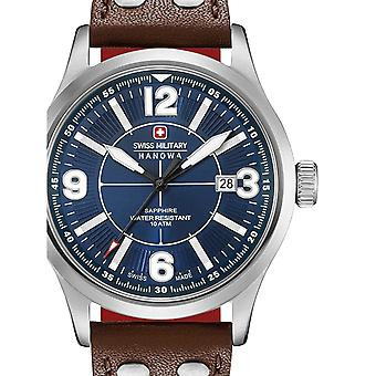 Mens Watch Swiss Military Hanowa 06-4280.04.003.10CH, Quartz, 42mm, 10ATM
