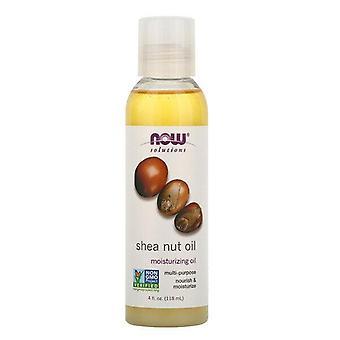 Now Foods, Oplossingen, Shea Nut Oil, 4 oz (118 ml)