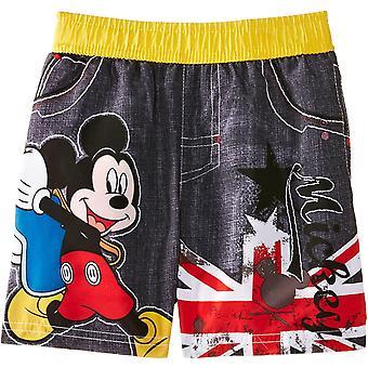 Boys Disney Mickey Mouse Swim Shorts