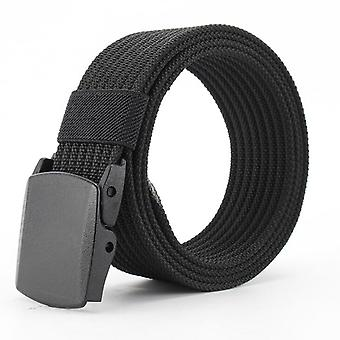 Men Female Belts Military Nylon Adjustable Belt