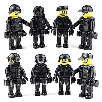8pcs Military Special Forces Soldiers Figure