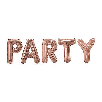 Rose Gold Foil Balloons PARTY   Decoration Birthday Wedding