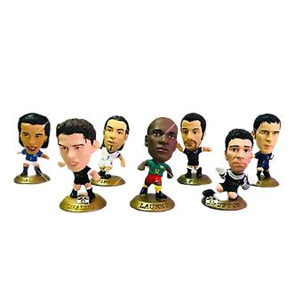 20pcs Cartoon Action Figures Football Player Stars