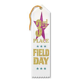 3Rd Place Field Day Award Ribbon (Pack of 6)