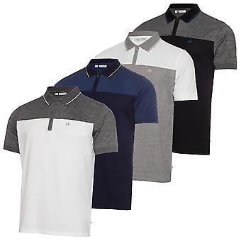 Calvin Klein Mens 2021 Morris Leggera Wicking Quick Dry Golf Polo Shirt