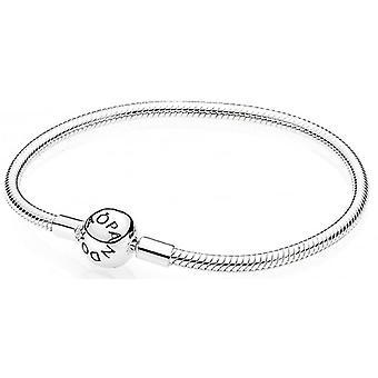 PANDORA Smooth Silver Clasp Bracelet - 590728-17