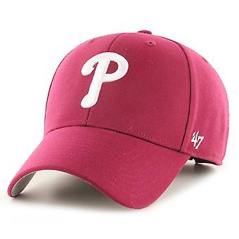 47 Brand Relaxed Fit Cap - MLB Philadelphia Phillies rot