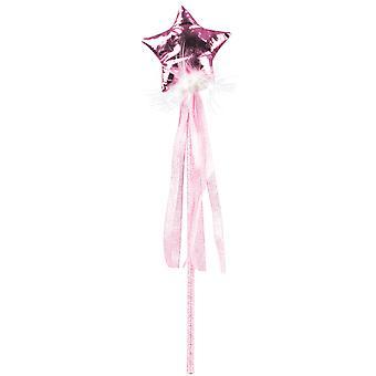 Baguette fée rose pastel fille