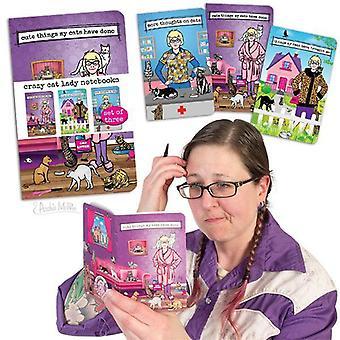 Archie mcphee - gekke kattendame notitieboekjes