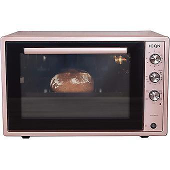 Wokex 60 Liter XXL Minibackofen   1800 W   Umluft   Pizza-Ofen   Doppelverglasung   Drehspieß  