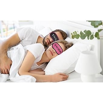 Ladies Luxury Satin Eye Mask With 3 Asst Designs and 2 Asst Colours