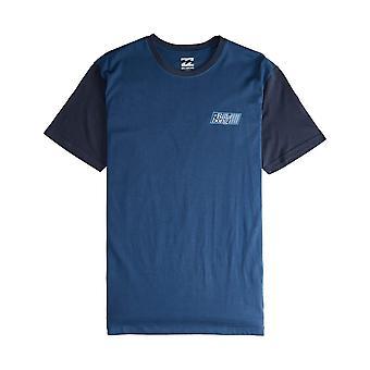 Billabong Super 8 camiseta de manga corta en azul oscuro