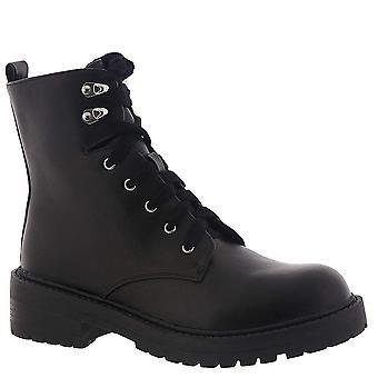 Madden Girl Womens Alicee Closed Toe Mid-Calf Combat Boots