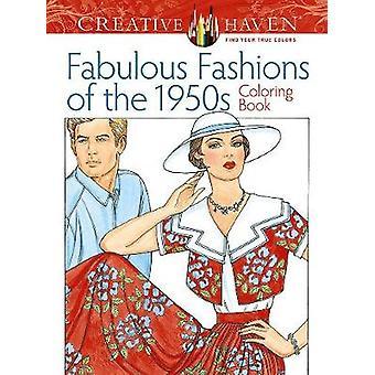 Refúgio criativo fabuloso modas do livro para colorir de 1950