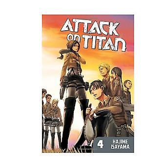 Attack On Titan 4 Paperback
