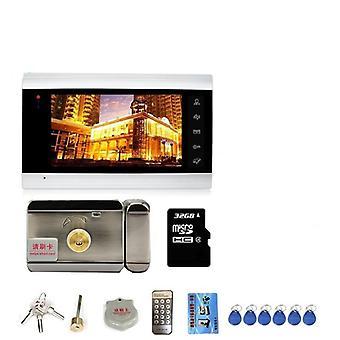 Wifi Intercom With Lock Dragonsview 7 Inch Wifi Video Door