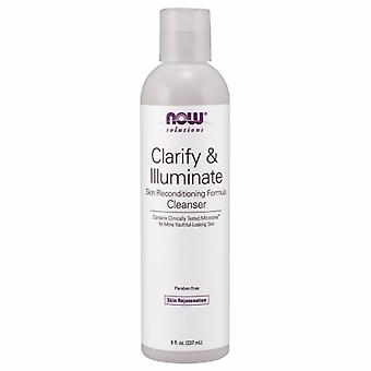 Now Foods Clarify & Illuminate Cleanser, 8 fl oz