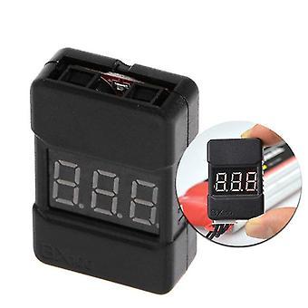 BX100 1-8S Lipo Baterie Tester tensiune / Joasă tensiune Buzzer Alarmă / Baterie Voltaj Checker cu Dual