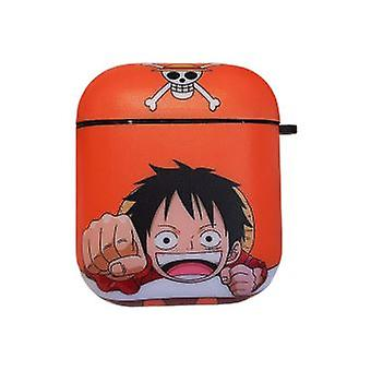 One Piece Case Shockproof Protective Cover For Your Apple Airpods - Orange