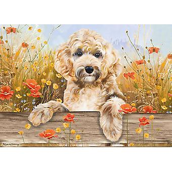 Otter House Cockapoo View Puzzle (1000 Teile)