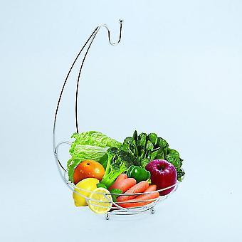 Household Kitchen Iron Wire Metal Storage Fruit Rack Fruit Storage Holder