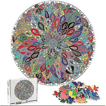 Jigsaw puzzles colorful m ala jigsaw puzzle unique shape jigsaw pieces adults kids toy gift gift #4862