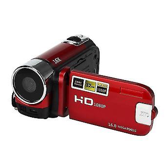 Full Hd 1080p Video Camera Professional Digital Camcorder(Red)