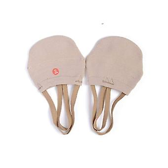 Meias de malha macias para sapatos de dedo do dedo da ginástica