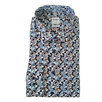 OLYMP Olymp Blue Shirt 1078 84 24