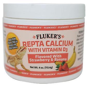 Flukers Strawberry Banana Flavored Repta Calcium - 2 oz