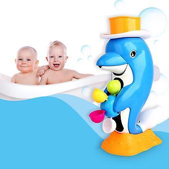 Fürdő játékok Gyerekek Zuhany Kacsa Vízikerék Delfin Játékok Állatok Úszás Strand Játékok Vízi játékok| Fürdő toy