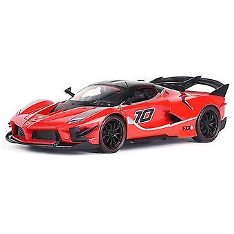 1:24 Ferrari FXX K EVO Modello di auto Die Cast Lega Ragazzi Giocattoli Auto Diecasts & Giocattolo Supercar Collezionabili