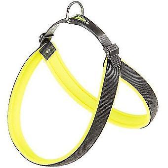 Pet collars harnesses dog harness agila fluo-6 57 / 65 cm nylon yellow