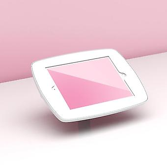 """Tablet-tietokoneen telakot seisovat pöytätabletin turvakotelossa 24,6 Cm 9,7"""" valkoinen"""