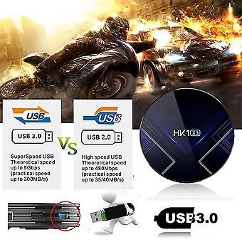 Box smart hd 8k wifi+ vezeték nélküli hálózati lejátszó 4+32g memória médialejátszó doboz könnyen telepíthető okostévé