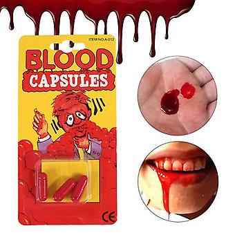 3pcs / Box Halloween Fake Blood Pillen