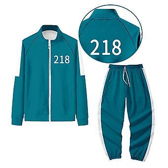 2021 Hot South Korean Movie Squid Game Merch Sweatshirt Pullover Cosplay Outfit Fashion Halloween