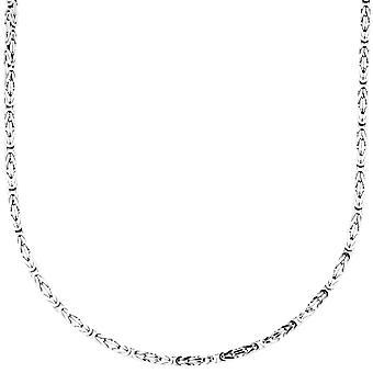 Sterling 925 Silver kuningas ketju - KAHV 2x2mm