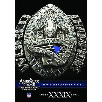 NFL America's Game: Patriots (Super Bowl Xxxix) [DVD] USA import