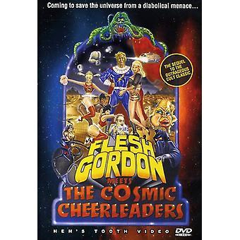 Flesh Gordon Meets the Cosmic Cheerleaders [DVD] USA import