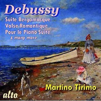 Martino Tirimo - Debussy: Importación Piano Suites [CD] Estados Unidos