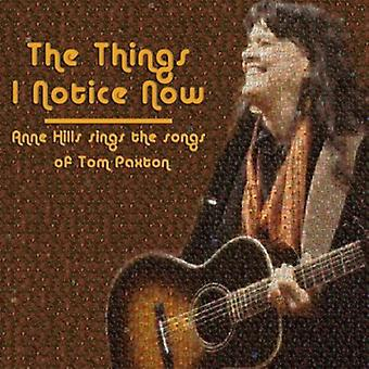 Anne Hills - Things I Notice Now-Anne Hills Sin [CD] USA import