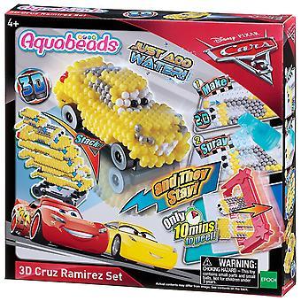 Set 3D de Aquabeads coches 3 Cruz Ramirez