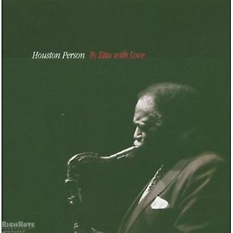 Houston Person - To Etta with Love [CD] USA import