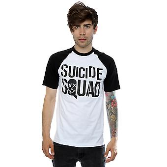 Suicide Squad mäns film logotyp Baseball T-Shirt
